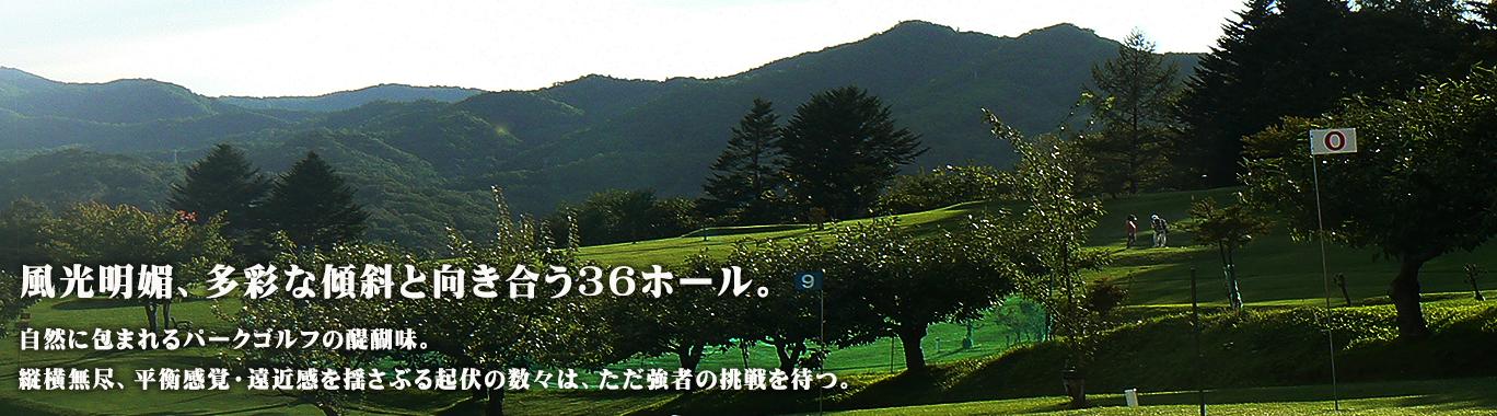 R131 - 八剣山パークゴルフ場