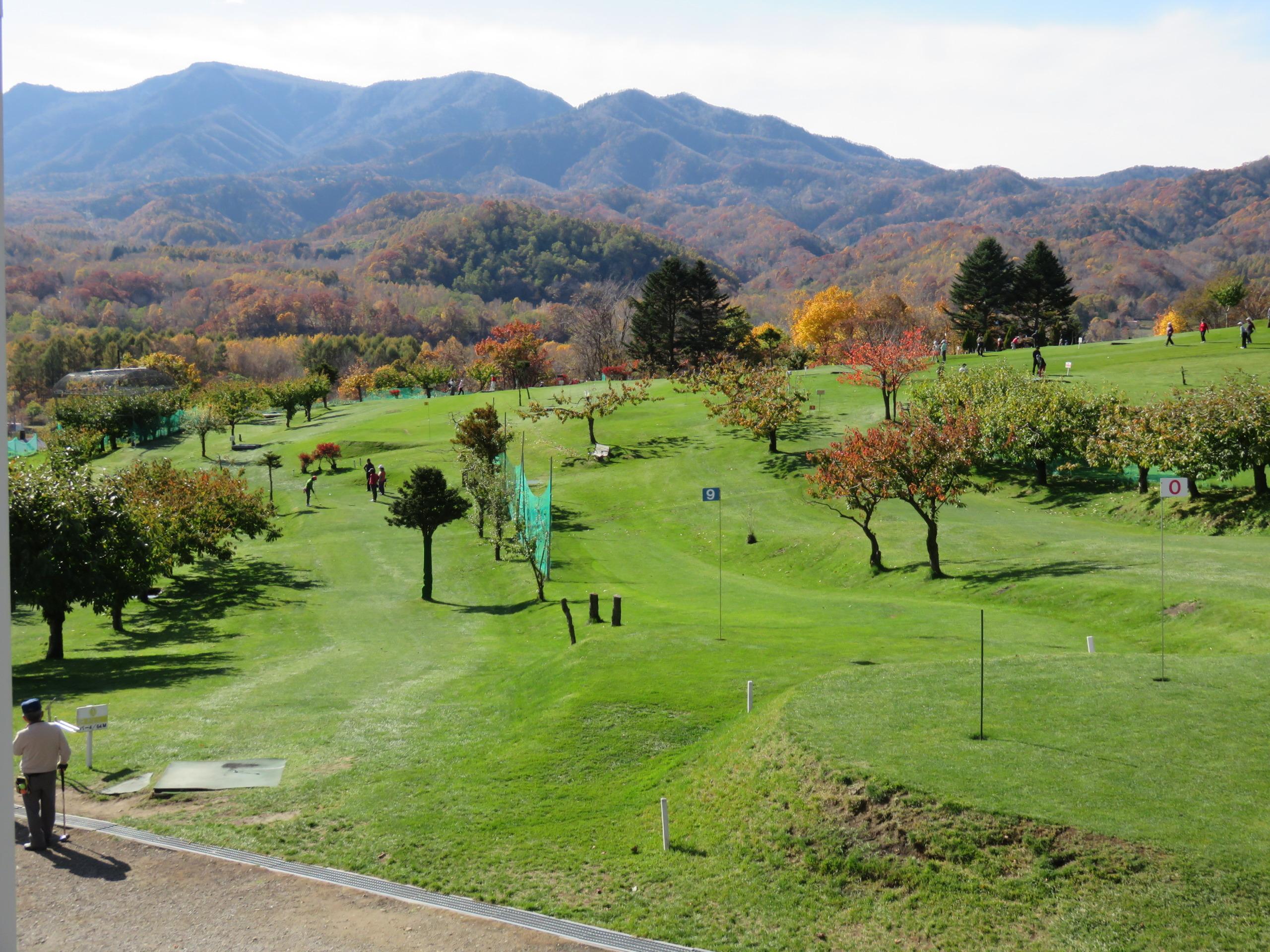 秋 八剣山パークゴルフ場